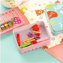 South Korea Cartoon Mini Storage Small Tin Box,Jewelry Necklaces Hairpin Earrings Debris Storage Box,Poker Box,(12 Free Post)