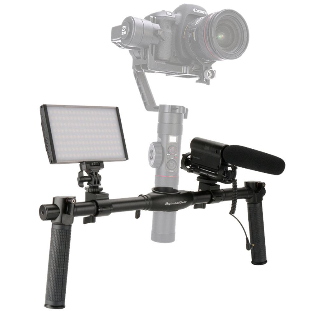 Stabilizer Grip Gimbal Dual Handle Extended Handle holder For Zhiyun Crane 2 Crane V2 Crane Plus Crane M Gimbal 04