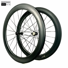 BIKEDOC 50mm Carbon Wheels 700c 23mm Width 38mm Cycling Wheels T700 Clincher Tubular 60mm Carbon Wheelset 88mm Bicycle Wheels