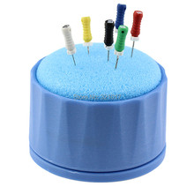 Dental Equipment Round Cleaning Foam Sponges File Dentist Products Holder Autoclavable Free Shipping