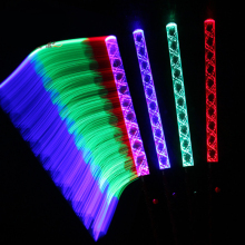 5 Colors Fluorescence LED Light Sticks Concert Night Club Color Glowing Sticks Cheering Props Festival Gift 20pcs/lot SD864