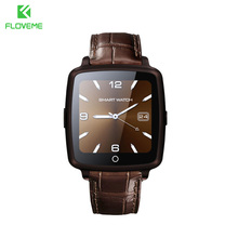 FLOVEME D3 Bluetooth 4.0 Smart Watch With 0.3MP Camera SIM Card Support Smartwatch For Android IOS Series Wristband Smart Watch(China)