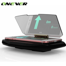 Universal Mobile Phone Car Holder Windscreen Projector HUD Head Up Navigation Display Holder for iPhone Samsung Smart Phones(China)