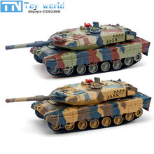 2017 1:24 516C RC Battle Tank Toy Simulation Infrared RC Battle Car Control Vehicle Military toy For Adults And Children gifts(China)