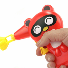 Bubble Wind Gun Outdoor Toy Bubble Machine Soap Bubble Blower Toy Cartoon Panda Tiger Frog Pig Blowing Blow Gun Plastic Blower(China)