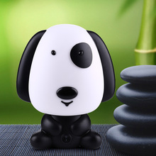 Pretty Cute Rabbit Dog Cartoon Animal Night Light Baby Room Sleeping Light Bedroom Desk Lamp Night Lamp Best for Gifts(China)