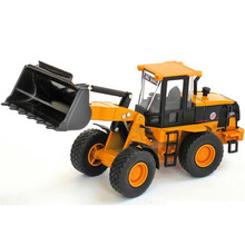 Alloy Loader Truck Model Bulldozer Excavator Educational Toys For Children Diecast Metal & ABS Kids Toys Boys Brinquedos Gift