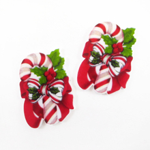28*40mm christmas flat back planar resin diy holiday decoration crafts accessories 10 pieces,DIY handmade materials,10Y52210(China)