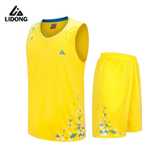Kids Girls Boys basketball jerseys Youth sports shirts shorts throwback jerseys suit Breathable Quick Dry $1.8 Custom Printing(China)