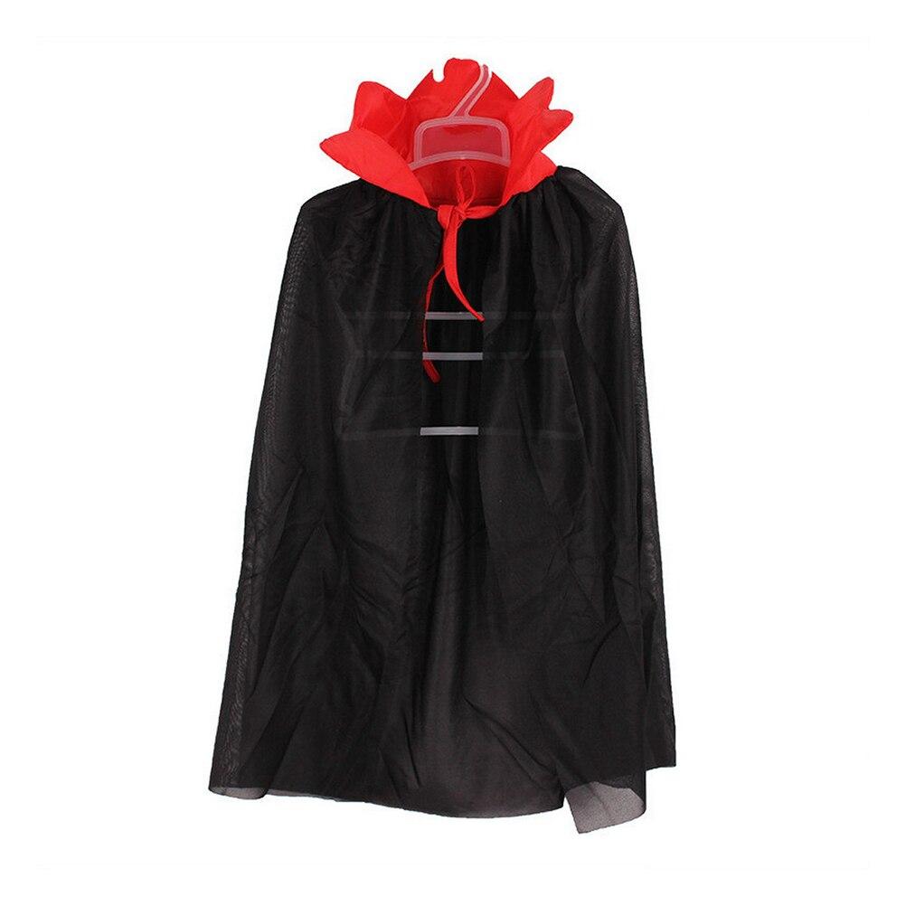 Kids Halloween Costume Theater Prop Death Hoody Cloak Devil Long Tippet Cape