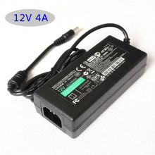 12V 4A AC 100V-240V Converter Adapter Led switching power AC DC adapter 12V 4A 48W Table type