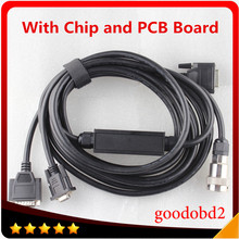 Diagnostic Tool Mb Star C3 RS232 to RS485 Cable MB SD Connect C3 RS232 to RS485 Cable with Chip and PCB(China)