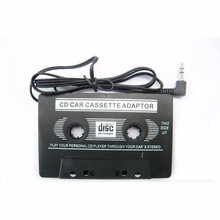 100pcs 3.5 MM Audio Car Cassette Tape Adapter Converter For Iphone Ipod MP3 AUX CD