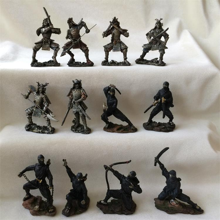 Sand table  Soldier of Medieval Roman War Model Decoration 12pcs/set<br>