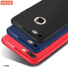 HCCZ latest style High quality TPU Matte soft silicone for iPhone 6 6s 7 8 Plus X 5 5s SE Frosted Elegance dustproof Phone case