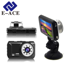 E-ACE Automotivo Mini Car Dvr Novatek Auto Camera Car Recorder hd Video Recorder Micro Car Dashcam dvr Carcam Led Flashlight Dvr