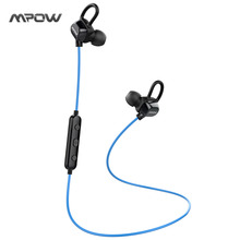 Buy Mpow Wireless Earphones Sweatproof Sport Running Bluetooth Headset Headphone Bluetooth Earpiece Mic CVC6.0 Noise Cancelling for $21.58 in AliExpress store