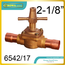 "2-1/8"" Global shutoff Valve with extend longer tube designed for  heat pump VRV air conditioner"