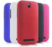 Hybrid Hard Cover Case For HTC Desire SV T326E Slim Matte +black white blue red pink purple
