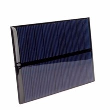 2pcs/Lot 5V 1.2W 240mA Solar Panel Cell Sunpower Solar China Module DIY Solar System Cells Battery Charger(China)