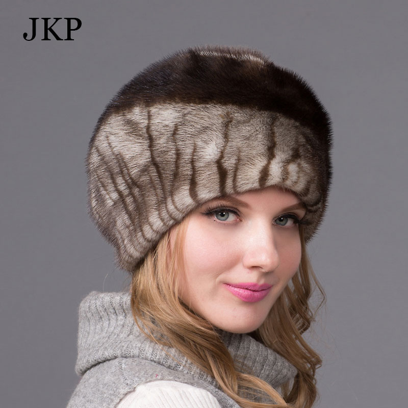 Russian winter fur hat for women real mink fur hat with diamond 2015 fashion hot sale women fur cap good quality ear protectorОдежда и ак�е��уары<br><br><br>Aliexpress