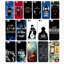 3106CA Popular Sherlocked Hard Transparent Case Cover for iPhone 7 7 plus 4 4s 5 5s 5c SE 6 6s Plus case cover