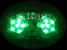 2X LED Side Marker Light Clearance Lamp 12V 24V Car Truck Trailer Caravan green Free shipping