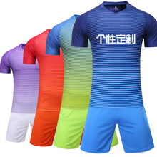 2017 new soccer men's football jerseys short ,Tracksuit Training Football Set Soccer Training Suits S-XL(China)
