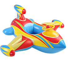 Children swim ring inflatable water supplies thicker steering wheel baby boat floating boat rescue aircraft seat seat part