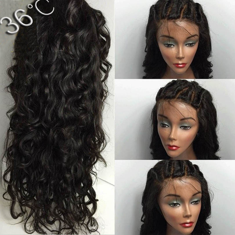 Full Lace Human Hair Wigs For Black Women Virgin Hair 8A Grade Glueless Full Lace Wigs Best Lace Front Wigs With Baby Hair<br><br>Aliexpress
