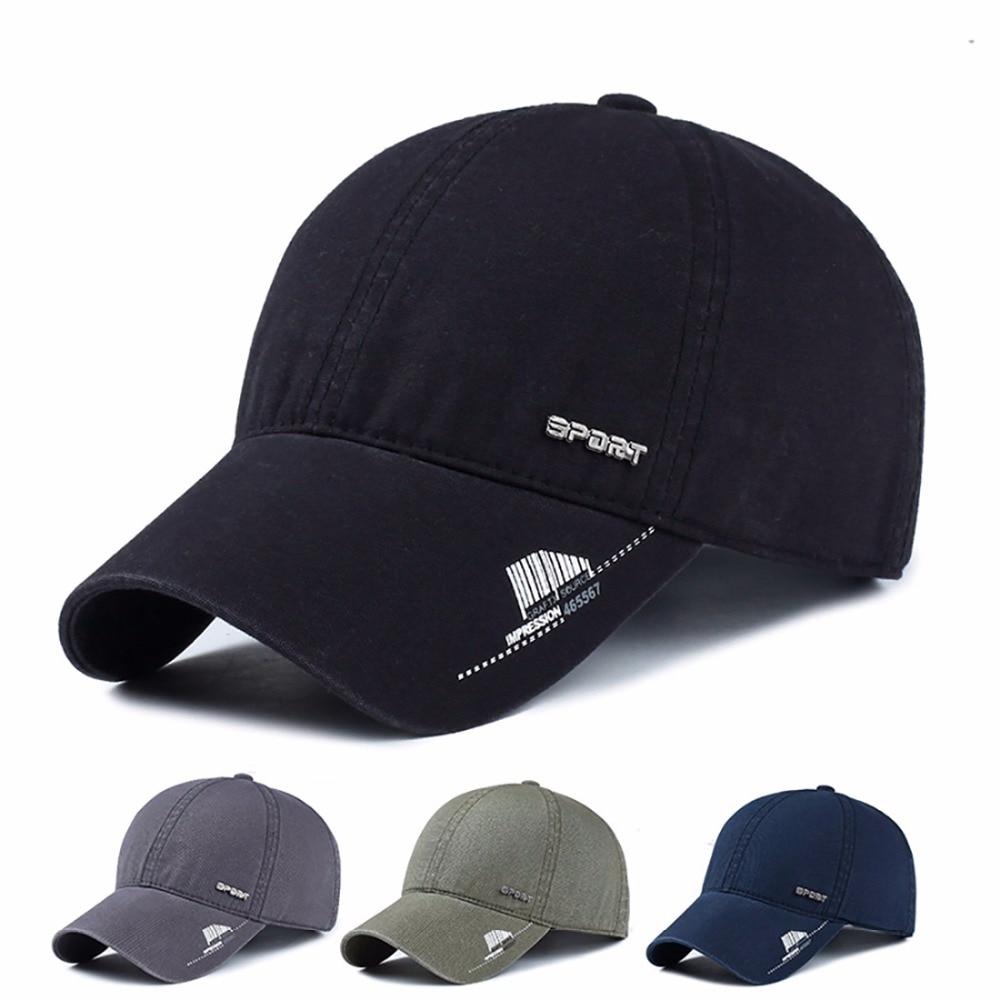 URSFUR Spandex Elastic Fitted Hat Sunscreen Baseball Cap Men or Women Sport casquette bone Casquette Sports Outdoors for Running<br><br>Aliexpress