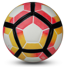 Hot sale 2016 High Quality Soccer Ball League Football Anti-slip Granules Ball Size 5 football Colorful Balls Birthday Gifts