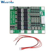 4S 30A 14.8V Li-ion Lithium 18650 Battery BMS Packs PCB Protection Board Module Balance Integrated Circuits With Wire 45x56X3mm(China)