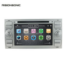 2 Din 7Inch In Dash Car DVD Player For Ford Mondeo/Focus/Transit/C-MAX/Kuga With GPS Navigation Radio Stereo Bluetooth 1080P