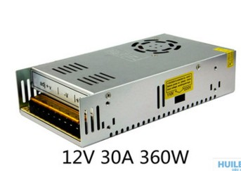 12v30A switching power supply factory direct High-quality power supply full power of pure copper 360w switching power supply<br>