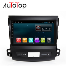 "AUTOTOP 9 ""Android 7,1 Автомобильный DVD Радио gps Navi мультимедиа для Mitsubishi Outlander 2014-4007 peugeot 2006 Citroen C-Crosser(China)"