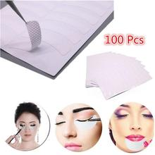 Wholesale 100pcs False Eyelash Extension Pads Stickers Eye Patches Adhesive Tape Kit Tool