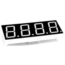 10pcs LED Display 7 segment Signs 0.8 inch Digital RED Letreros De LED Display 7-Segment 4 Digits 0.8inch 7Segments Light 0.8""