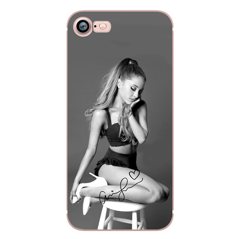 Ariana Grande Coque Dangerous Woman Everyday Beauty and the Beast Phone Cases for iphone 5s 7 6 plus 6s SE 5 Soft Clear Silicone (5)