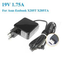 19V 1.75A 33W EU Plug AC Laptop Power Adapter Charger for Asus Eeebook X205T X205TA 01A001-0342100 ADP-33AW AD ADP-33AW B