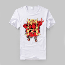 Love and hate red heart flexible and elastic fabric t shirt vintage fashion slim fit(China)