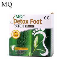 120 Piece=60pcs Patches+60 pcs Adhesives Detox Foot Patch Bamboo Vinegar Pads Improve Sleep Quality Slimming Patch Loss Weight(China)