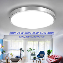 ceiling led lighting lamps modern bedroom living room lamp surface mounting balcony 18w 24w 30w 36w 40w 48w AC90V - 260V ceiling(China)