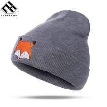 Hot Sales Women'S Winter Hat Warm Cap Hat For Women Girl Beanie Cap Winter Knit Beanie Skullie Beanies Hat Girls Gorro(China)