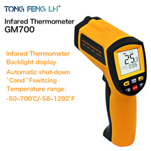 IR Infrared Temperature Tester Thermometer Laser Gun 100% Good Quality New GM700 Temperature range -50 to 700 degree Non-Contact(China)