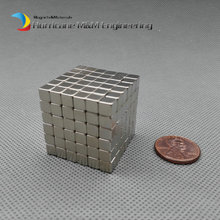 216 pcs N42 Block 5x5x5 mm NdFeB Magnet Cube Magic Toy Neodymium Magnets Rare Earth Magnets Permanent