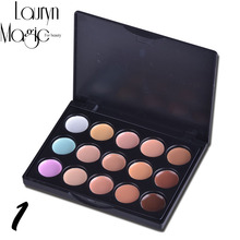 Lauryn Magic for beauty mini 15 Color Concealer Makeup Set  Makeup Foundation Concealer Palette