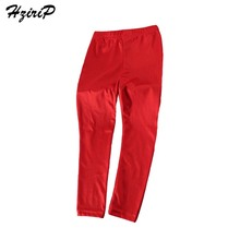 HziriP Hot Sale New Kids Toddler Baby Boy Girl Pants Slim Skinny Children Leggings Solid Color Cotton Casual Girls Clothing(China)