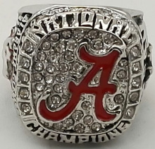 Wholesale  Good Quality Factory Direct Sale NCAA 2015 Alabama national Replica Championship Rings
