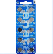 10Pcs/Lot RETAIL BrandNew Renata LONG LASTING 390 SR1130SW 389 LR54 AG10 Watch Battery Button Coin Cell Swiss Made 100% Original(China)